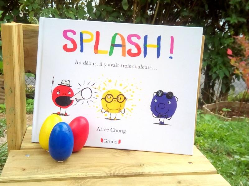Splash livre enfant