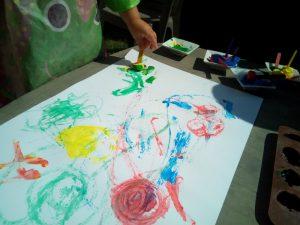 peinture glaçons