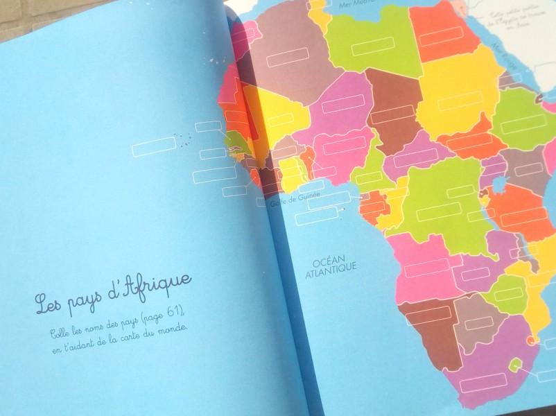 Mon cahier montessori de géographie