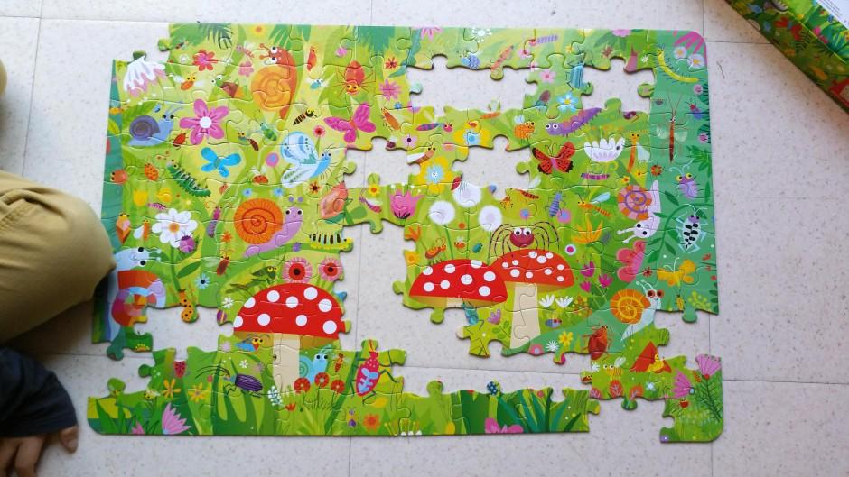 livre puzzle petites bêtes
