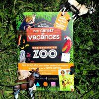 cahier de vacances une saison au zoo
