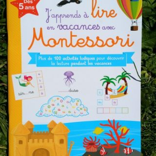 cahier vacances lecture montessori