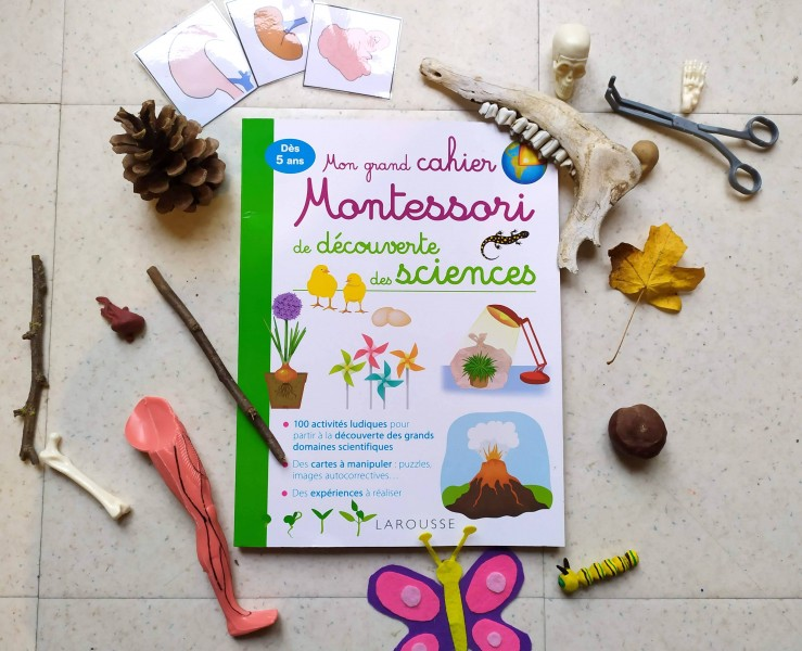 Cahier de sciences montessori