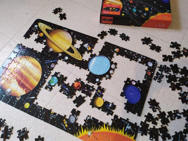 puzzle espace