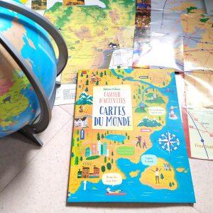 découvrir les cartes du monde