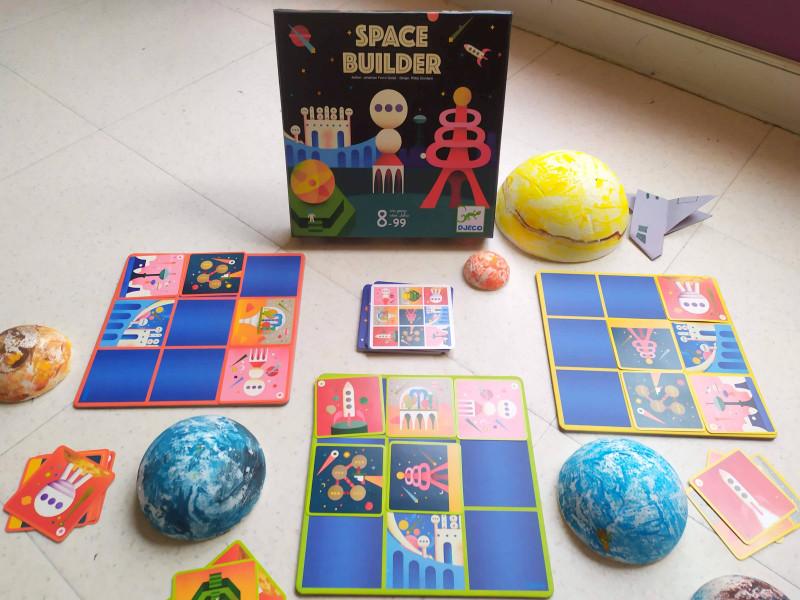 jeu de société espace