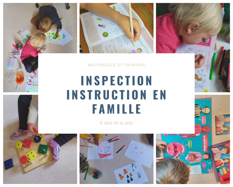 inspection instruction en famille